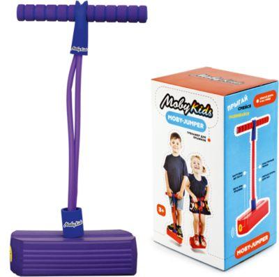 Тренажер для прыжков со звуком , фиолетовый, Moby Kids, артикул:6844287 - Фитнес