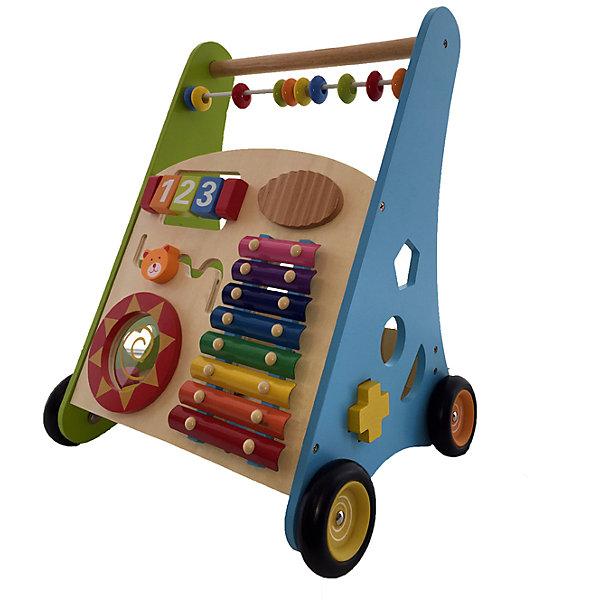 цена Kids4Kids Ходунок и развивающий центр из дерева