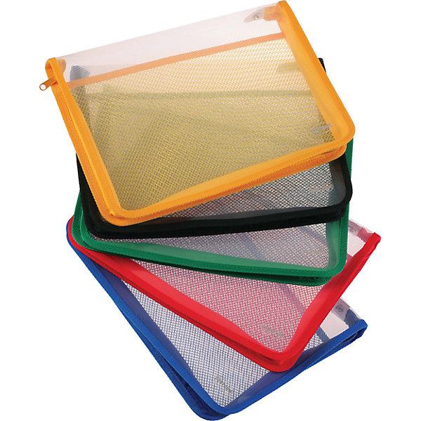 CENTRUM Centrum Папка пластиковая А4 на молнии centrum centrum папка пакет для документов с пластиковой застежкой молнией