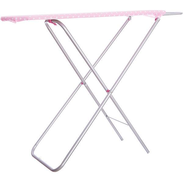 Игрушечная гладильная доска Mary Poppins, металлНаборы для уборки<br>Характеристики:<br><br>• реалистичные детали;<br>• компактна в сложенном виде;<br>• размер: 71,5х25,5х56 см;<br>• возраст: от 3-х лет;<br>• материал: металл, текстиль;<br>• размер упаковки: 84х4,5х21 см;<br>• вес: 1,8 кг;<br>• страна бренда: Россия.<br><br>Гладильная доска от Mary Poppins выглядит совсем как настоящая, благодаря чему девочка с радостью научится гладить, чтобы помогать маме по хозяйству. <br><br>Доска изготовлена из прочных материалов. Она легко складывается и обладает компактностью в собранном виде.<br><br>Сбоку доски расположены специальные перекладины для белья.<br><br>Доску гладильную металлическую, 71,5*25,5*56 см, Mary Poppins (Мэри Поппинс) можно купить в нашем интернет-магазине.<br>Ширина мм: 210; Глубина мм: 45; Высота мм: 840; Вес г: 1800; Возраст от месяцев: 36; Возраст до месяцев: 2147483647; Пол: Женский; Возраст: Детский; SKU: 6846877;