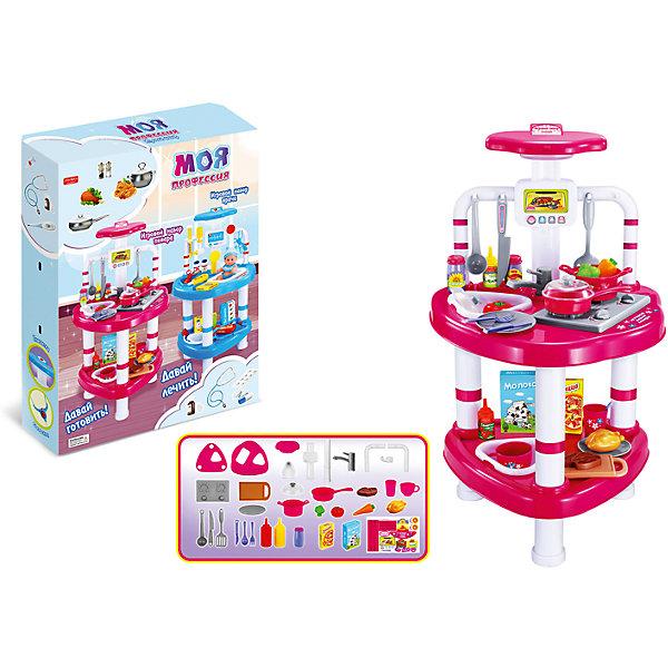 Shantou Gepai Игровой набор Shantou Gepai Повар, со светом кухонный набор сима ленд шеф повар хрюша 3505364