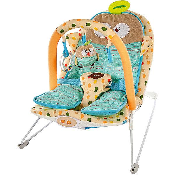 Жирафики Кресло-качалка Жирафики Совёнок с вибрацией и музыкой цена