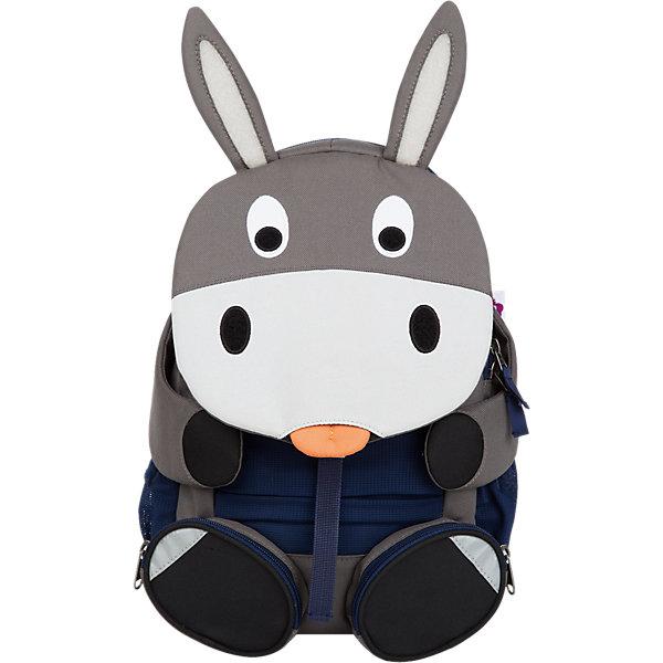 Affenzahn Рюкзак детский Don Donkey, основной цвет серый