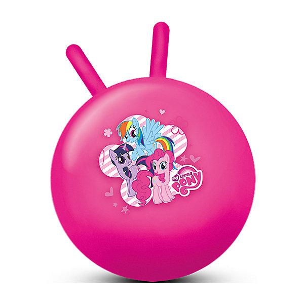 Мяч My Litlle Pony, 45 см, Играем ВместеМячи детские<br>Характеристики товара:<br><br>• возраст: от 3 лет;<br>• материал: резина;<br>• диаметр мяча: 45 см;<br>• размер упаковки: 24х18х8 см;<br>• вес упаковки: 660 гр.;<br>• страна производитель: Китай.<br><br>Мяч «My Little Pony» Играем Вместе — отличный тренажер для детей от 3 лет. Сидя на нем и держась за рожки, малыш тренирует координацию движений, тренирует мышцы, формирует осанку. Мяч подойдет для использования как дома, так и на улице. На мяче изображены любимые персонажи мультсериала.<br><br>Мяч «My Little Pony» Играем Вместе можно приобрести в нашем интернет-магазине.<br>Ширина мм: 180; Глубина мм: 80; Высота мм: 240; Вес г: 660; Возраст от месяцев: 36; Возраст до месяцев: 60; Пол: Унисекс; Возраст: Детский; SKU: 6848817;
