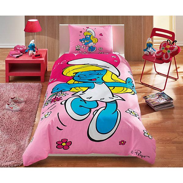 TAC Детское постельное белье 1,5 сп. TAC, Smurfs Sirine