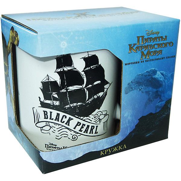 Disney Кружка Пираты Карибского Моря. Черная Жемчужина в подарочной упаковке, 350 мл., Disney кружка gift n home парижские цветы 350 мл