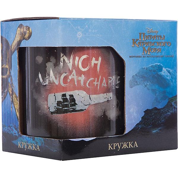 Disney Кружка Пираты Карибского Моря. Бунтарь в подарочной упаковке, 500 мл., Disney elff ceramics кружка в подарочной упаковке объем 380 мл 32