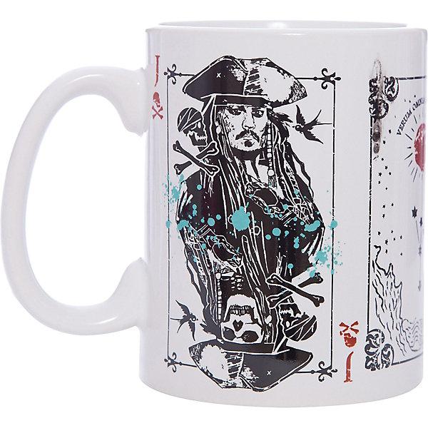 Disney Кружка Пираты Карибского Моря. Карты, 500 мл., Disney графин боярский 500 мл ш 18 500 907736