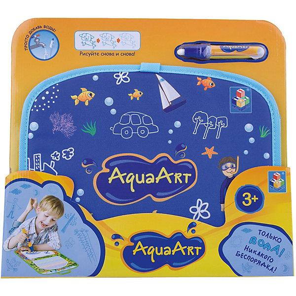 Фотография товара коврик для рисования, синий, 1toy AquaArt (6851267)