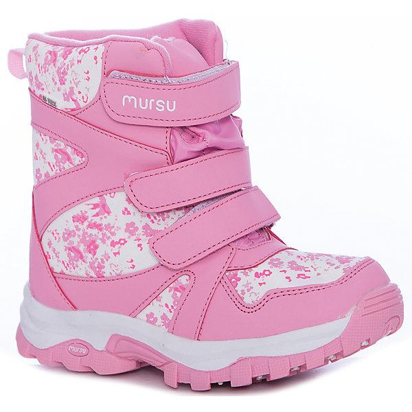 MURSU Ботинки Mursu для девочки ботинки для девочки mursu цвет серый 205703 размер 30
