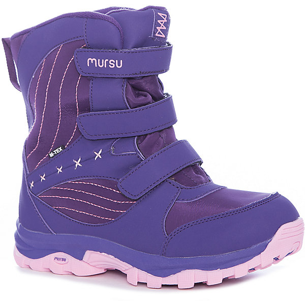 MURSU Ботинки Mursu для девочки ботинки шк обувь ботинки