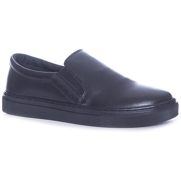 MURSU Слипоны Mursu для мальчика полуботинки для мальчика mursu цвет черный 205298 размер 33