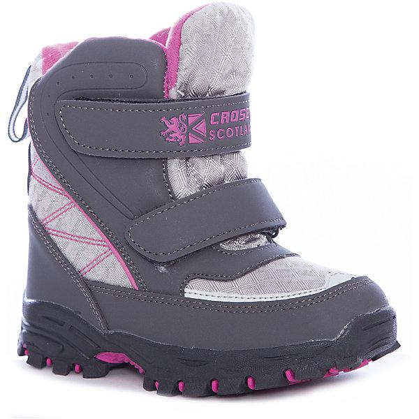 Crosby Ботинки для девочки Crosby crosby слипоны crosby для девочки