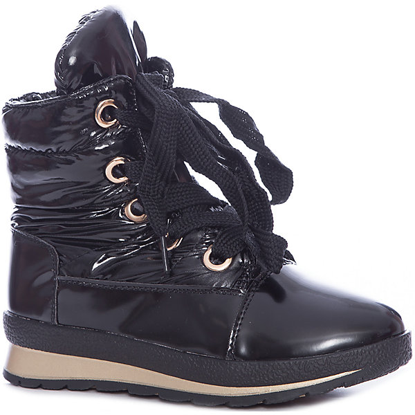 KEDDO Ботинки для девочки KEDDO ботинки для девочки 558117 01 01f чёрный keddo