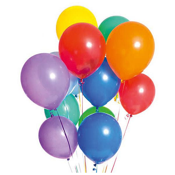 ACTION! Воздушные шары, металлизированные, 30 см, 20 шт