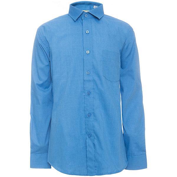 Купить Рубашка для мальчика Tsarevich, Китай, синий, Мужской