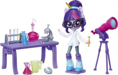 Набор с мини-куклой Equestria Girls, Лаборатория Твайлайт Спаркл (Искорка), артикул:6861704 - Мягкие игрушки