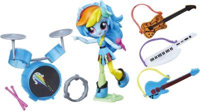 Набор с мини-куклой Equestria Girls, Музыкальный класс Рэйнбоу Дэш, артикул:6861705 - Мягкие игрушки