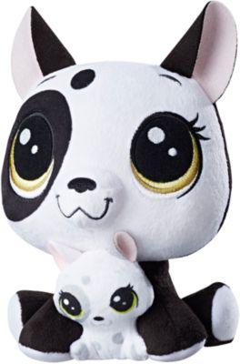 Мягкая игрушка Littlest Pet Shop  Плюшевые парочки  Bullena Doghouser & Scamper Doghouser, 16 см, артикул:6861706 - Мягкие игрушки