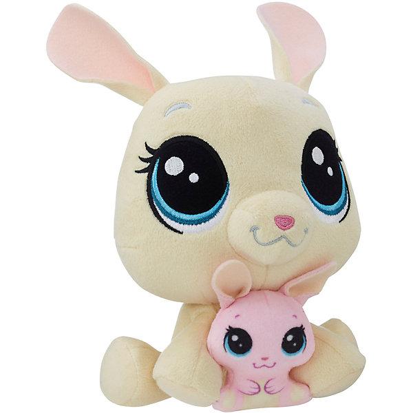 Hasbro Мягкая игрушка Littlest Pet Shop Плюшевые парочки Vanilla Velvetears и Bijou Velvetears, 16 см littlest pet shop фигурка bijou byson