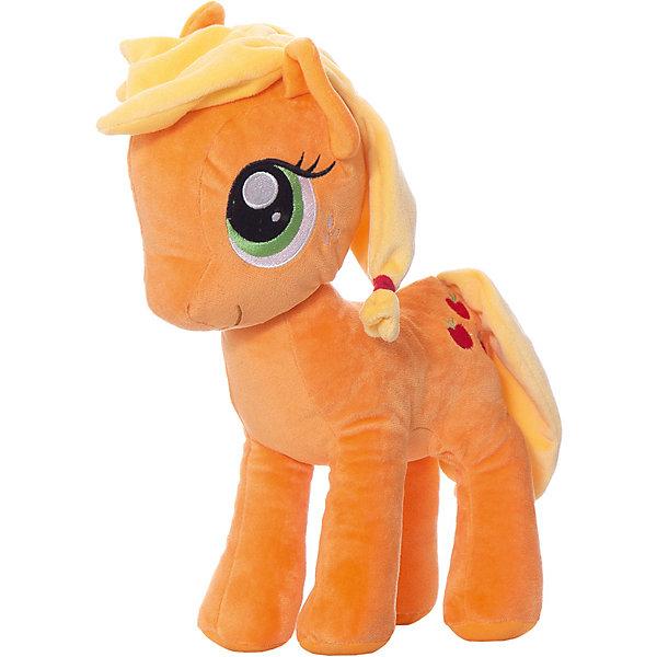 Hasbro Мягкая игрушка Hasbro My little Pony Плюшевые пони Эплджек, 30 см hasbro мягкая игрушка hasbro my little pony маленькие плюшевые пони трикси луламун 13 см