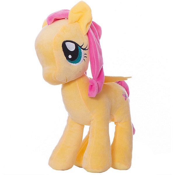 Hasbro Мягкая игрушка Hasbro My little Pony Плюшевые пони Флаттершай, 30 см hasbro мягкая игрушка hasbro my little pony маленькие плюшевые пони трикси луламун 13 см