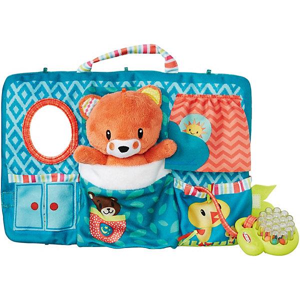 Мягкая игрушка Playskool Первые плюшевые друзья Мишка, 30,5 смМягкие игрушки из мультфильмов<br>Характеристики:<br><br>• возраст: от 9 месяцев;<br>• материал: текстиль;<br>• в наборе: органайзер с игрушкой, расческа-погремушка;<br>• вес упаковки: 265 гр.;<br>• размер упаковки: 24х31х25 см;<br>• страна бренда: США.<br><br>Первые плюшевые друзья Playskool от Hasbro – занимательная игрушка для малыша, которая развивает тактильное и цветовое восприятия, мелкую моторику.<br><br>Плюшевый мишка помещен в складной органайзер, внутри которого есть кармашек-кроватка, зеркальце и расческа-погремушка на шнурочке. Органайзер закрывается на липучку, имеется ручка для переноски. Сделано из качественных безопасных материалов.<br><br>Первые плюшевые друзья, Playskool, B6290/B6292, Hasbro можно купить в нашем интернет-магазине.<br>Ширина мм: 60; Глубина мм: 305; Высота мм: 227; Вес г: 283; Возраст от месяцев: -2147483648; Возраст до месяцев: 2147483647; Пол: Унисекс; Возраст: Детский; SKU: 6861726;