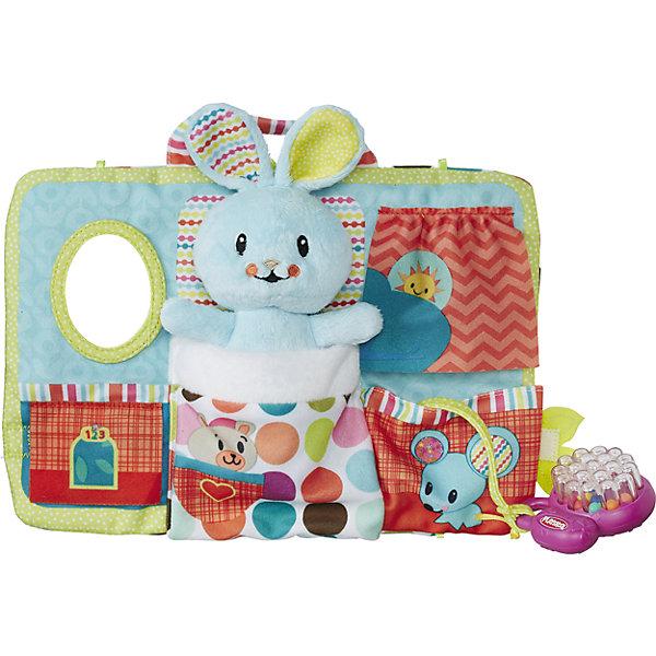 Hasbro Мягкая игрушка Playskool Первые плюшевые друзья Зайка, 30,5 см