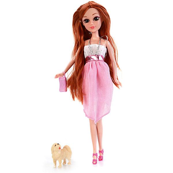 Карапуз Кукла Мария 29 см, с гламурной собачкой и аксессуарами, Карапуз