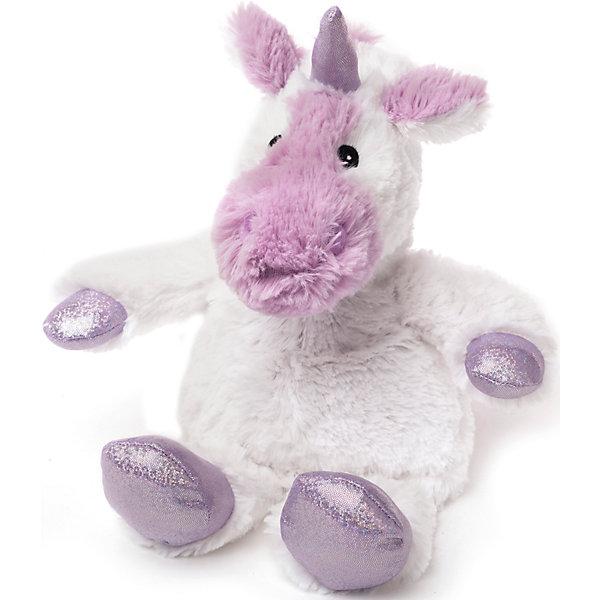 Intelex Игрушка-грелка Белый единорог Cozy Plush, Warmies мягкая игрушка грелка лисица warmies cozy plush лиса коричневый текстиль cp fox 2