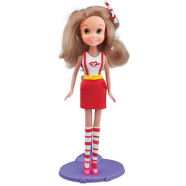 TOY TARGET Набор для лепки с куклой Fashion Dough - Блондинка в красной юбке toy target набор для лепки с куклой fashion dough шатенка в голубом сарафане