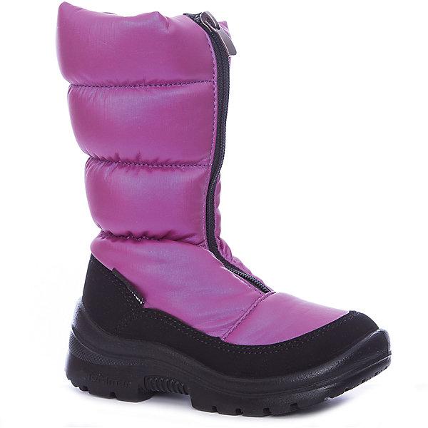 Сапоги для девочки NordmanДутики<br>Характеристики товара:<br><br>• цвет: фиолетовый<br>• материал верха: текстиль <br>• подклад: шерстяной мех<br>• стелька: шерстяной мех<br>• подошва: ЭВА<br>• сезон: зима<br>• температурный режим: от 0 до -20<br>• застежка: молния<br>• подошва не скользит<br>• анатомические <br>• страна бренда: Россия<br>• страна изготовитель: Россия<br><br>Сапоги для девочки Nordman позволяют сохранить ноги в тепле и одновременно не дают им промокнуть. Такая обувь отлично подходит для снежной зимы или слякоти в межсезонье. <br><br>Высокое голенище предотвращает попадание снега в сапог. Меховая подкладка обеспечивает комфортные условия для ног благодаря способности материала впитывать влагу.<br><br>Сапоги для девочки Nordman (Нордман) можно купить в нашем интернет-магазине.<br>Ширина мм: 257; Глубина мм: 180; Высота мм: 130; Вес г: 420; Цвет: лиловый; Возраст от месяцев: 36; Возраст до месяцев: 48; Пол: Женский; Возраст: Детский; Размер: 27,31,30,29,28; SKU: 6867473;