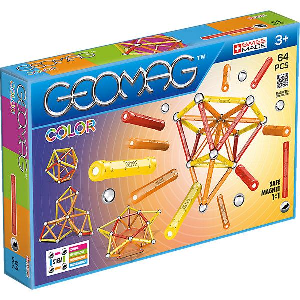 Geomag Магнитный конструктор Color, 64 детали