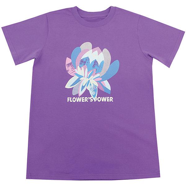 Футболка для девочки WOWФутболки, поло и топы<br>Футболка для девочки WOW<br>Незаменимой вещью в  гардеробе послужит футболка с коротким рукавом. Стильная и в тоже время комфортная модель, с яркой оригинальной печатью, будет превосходно смотреться на ребенке.<br>Состав:<br>кулирная гладь 100% хлопок<br>Ширина мм: 199; Глубина мм: 10; Высота мм: 161; Вес г: 151; Цвет: лиловый; Возраст от месяцев: 132; Возраст до месяцев: 144; Пол: Женский; Возраст: Детский; Размер: 152,140,134,128,164,158,146; SKU: 6871779;