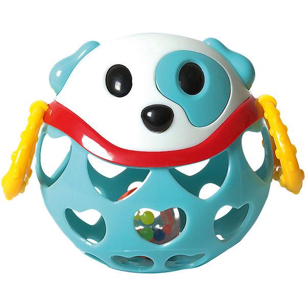 Погремушка-неразбивайка Baby Trend СобакаПогремушки<br>Характеристики:<br><br>• возраст: от 3 месяцев<br>• материал: мягкий гибкий пластик<br>• размер игрушки: 11х11,5х7,5 см.<br>• размер упаковки: 16,5х11,5х7,5 см.<br>• вес: 181 гр.<br><br>Яркая игрушка-неразбивайка «Собака» от Baby Trend (Беби Тренд) изготовлена из мягкого гибкого высококачественного пластика. Игрушка не имеет острых и опасных выступов. Благодаря уникальной форме ее удобно держать маленькими пальчиками.<br><br>Внутри игрушки находится прозрачный контейнер с цветными шариками, которые издают забавные звуки при встряхивании. Рельефные ручки игрушки можно использовать в качестве прорезывателей для зубов, они успокоят нежные десна малыша.<br><br>Игрушку-неразбивайку Собака, Baby Trend (Беби Тренд) можно купить в нашем интернет-магазине.<br>Ширина мм: 140; Глубина мм: 135; Высота мм: 105; Вес г: 181; Возраст от месяцев: 3; Возраст до месяцев: 2147483647; Пол: Унисекс; Возраст: Детский; SKU: 6872170;