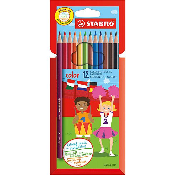 Фотография товара карандаши цветные 12цв (6873776)