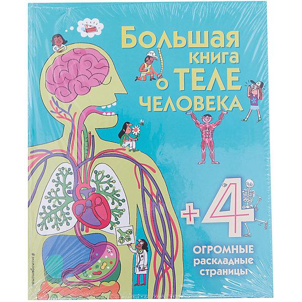 Эксмо Большая книга о теле человека