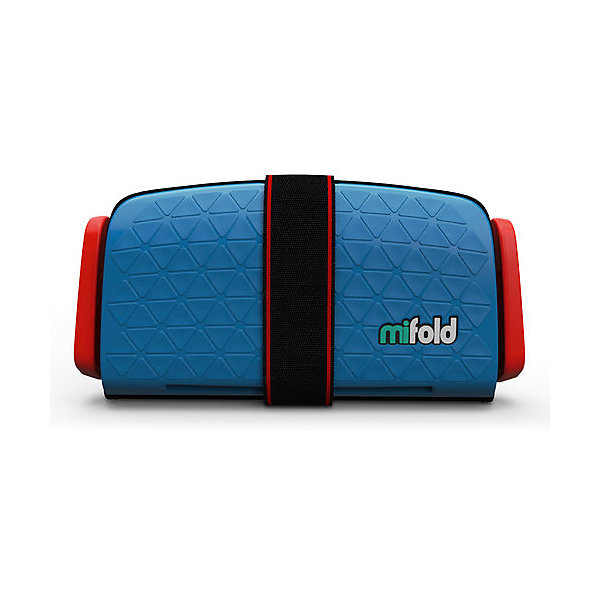 Mifold Автокресло-бустер Mifold 15-36 кг, denim blue бустер mifold the grab and go booster seat pearl grey