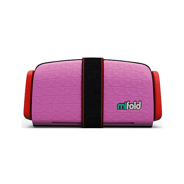 Автокресло-бустер Mifold 15-36 кг, perfect pinkГруппа 3 (от 22 до 36 кг) Бустеры<br>Характеристики:<br><br>• вес ребенка: 15-36 кг;<br>• возраст ребенка: от 4 до 12 лет;<br>• способ установки: на заднем сидении автомобиля или на переднем с отключенной подушкой безопасности;<br>• компактные размеры в сложенном виде: помещается в бардачке автомобиля;<br>• в 10 раз меньше стандартных бустеров;<br>• ударопрочный металл;<br>• регулируемая ширина натяжителей ремней, 3 положения;<br>• ремни безопаснсоти регулируются по высоте;<br>• материал: алюминий марки 6061, полиэстер;<br>• размер автокресла-бустера: 25,5х12,7 см.<br>• размер в разложенном виде (23*24*4см)<br><br>Автокресло-бустер Mifold 15-36 кг, perfect pink можно купить в нашем интернет-магазине.<br>Ширина мм: 168; Глубина мм: 253; Высота мм: 73; Вес г: 950; Цвет: розовый; Возраст от месяцев: 48; Возраст до месяцев: 144; Пол: Унисекс; Возраст: Детский; SKU: 6878755;