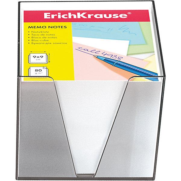 Erich Krause Бумага настольная  90*90*90 мм в пластиковом контейнереБумага для заметок и стикеры<br>Характеристики товара:<br><br>• размер бумаги: 90х90х90 мм;<br>• высота блока: 5 см;<br>• плотность бумаги: 80 г/м2;<br>• материал: бумага, пластик;<br>• размер упаковки: 9х9х9 см;<br>• вес: 651 грамм.<br><br>Настольная бумага Erich Krause отлично подойдет для написания заметок и важной информации. Набор упакован в пластиковый контейнер, который делает использование бумаги еще удобнее. Бумага компактно хранится на рабочем столе, не занимая много места. В комплект входит бумага плотностью 80 г/м2.<br><br>Erich Krause (Эрих Краузе) Бумагу настольную  90*90*90 мм в пластиковом контейнере можно купить в нашем интернет-магазине.<br>Ширина мм: 90; Глубина мм: 90; Высота мм: 90; Вес г: 650; Возраст от месяцев: 144; Возраст до месяцев: 2147483647; Пол: Унисекс; Возраст: Детский; SKU: 6878805;