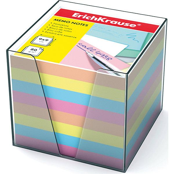 Erich Krause Бумага настольная 90*90*90 мм в пластиковом контейнереБумага для заметок и стикеры<br>Характеристики товара:<br><br>• размер бумаги: 90х90х90 мм;<br>• высота блока: 5 см;<br>• плотность бумаги: 80 г/м2;<br>• материал: бумага, пластик;<br>• размер упаковки: 9х9х9 см;<br>• вес: 651 грамм.<br><br>Настольная бумага Erich Krause отлично подойдет для написания заметок и важной информации. Набор упакован в пластиковый контейнер, который делает использование бумаги еще удобнее. Бумага компактно хранится на рабочем столе, не занимая много места. В комплект входит бумага разных цветов плотностью 80 г/м2.<br><br>Erich Krause (Эрих Краузе) Бумагу настольную  90*90*90 мм в пластиковом контейнере можно купить в нашем интернет-магазине.<br>Ширина мм: 90; Глубина мм: 90; Высота мм: 90; Вес г: 650; Возраст от месяцев: 144; Возраст до месяцев: 2147483647; Пол: Унисекс; Возраст: Детский; SKU: 6878808;