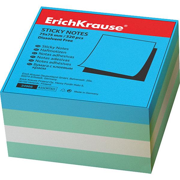 Erich Krause Блок бумаги с клеевым крае 75х75мм акваБумага для заметок и стикеры<br>Характеристики товара:<br><br>• количество листов: 320;<br>• размер блока:7,5х7,5 см;<br>• материал: бумага;<br>• размер упаковки: 7,5х1,5х7,5 см;<br>• вес: 138 грамм.<br><br>Блок бумаги Аква предназначен для нанесения и наклеивания записей. В набор входят 320 листов бумаги размером 7,5х7,5 сантиметров. Бумага выполнена в трех приятных цветах. Наклеивать бумагу можно с помощью клеевой части с края листа. После использования бумага не оставляет следов на поверхности.<br><br>Erich Krause (Эрих Краузе) Блок бумаги с клеевым краем 75х75мм аква можно купить в нашем интернет-магазине.<br>Ширина мм: 75; Глубина мм: 75; Высота мм: 15; Вес г: 138; Возраст от месяцев: 144; Возраст до месяцев: 2147483647; Пол: Унисекс; Возраст: Детский; SKU: 6878850;