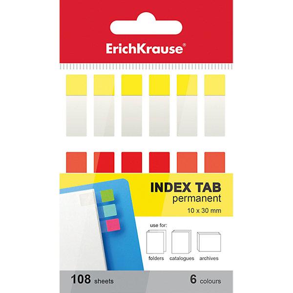 Erich Krause Архивные закладки с клеевым краем  6х10х30ммБумага для заметок и стикеры<br>Характеристики товара:<br><br>• в комплекте: 108 закладок;<br>• количество цветов: 6;<br>• размер закладки: 6х10х30 мм;<br>• размер упаковки: 1,5х4х7 см;<br>• вес: 20 грамм.<br><br>Архивные закладки с клевым краем помогут сохранить нужные страницы и организовать порядок в картотеках и архивных файлах. В комплект входят 108 закладок, выполненных в шести разных цветах. Клеевой край легко приклеивается практически к любой поверхности. Подходит только для однократного применения.<br><br>Erich Krause (Эрих Краузе) Архивные закладки с клеевым краем  6х10х30мм можно купить в нашем интернет-магазине.<br>Ширина мм: 70; Глубина мм: 40; Высота мм: 15; Вес г: 20; Возраст от месяцев: 144; Возраст до месяцев: 2147483647; Пол: Унисекс; Возраст: Детский; SKU: 6878853;