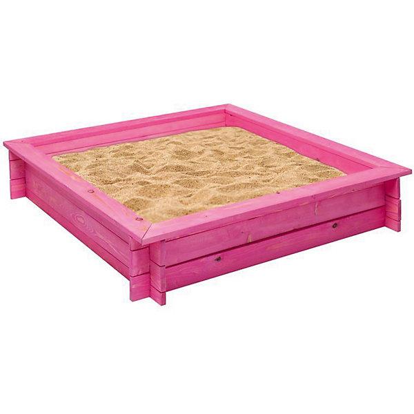PAREMO Деревянная песочница Афродита, розовая, PAREMO песочницы pic n mix песочница крыло бабочки