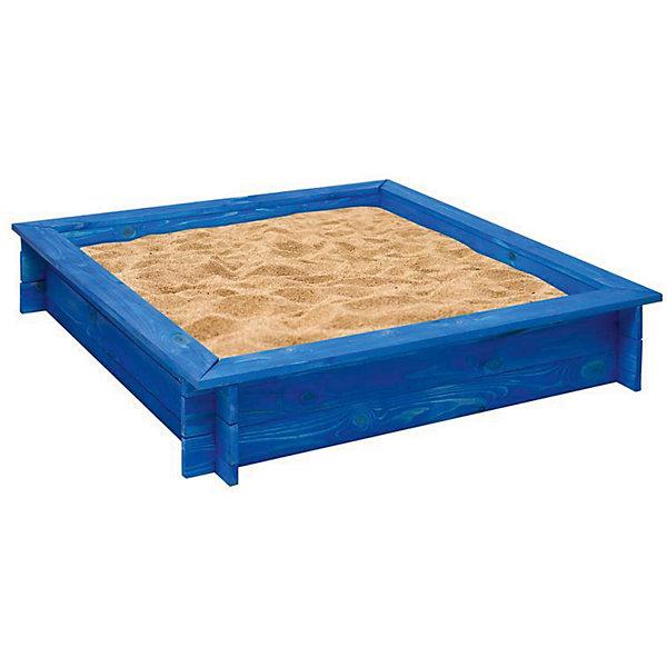 PAREMO Деревянная песочница Одиссей, синяя, PAREMO песочницы pic n mix песочница крыло бабочки