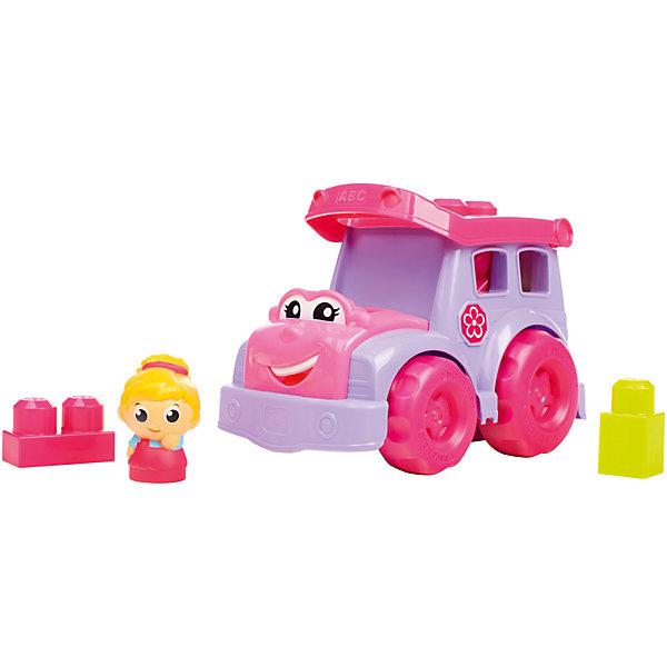 MEGA BLOKS Маленькое транспортное средство, MEGA BLOKS игрушка раскачивающаяся гусеница mega bloks