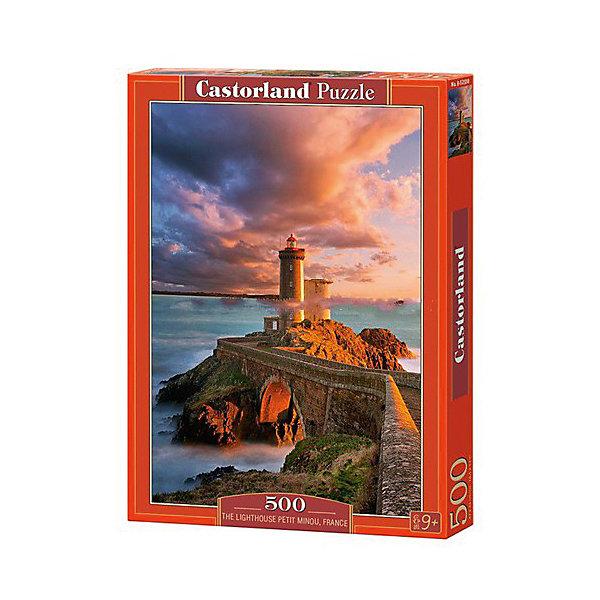 Castorland Пазлы Маяк, Франция , 500 деталей, Castorland castorland пазлы парусник 1000 деталей castorland
