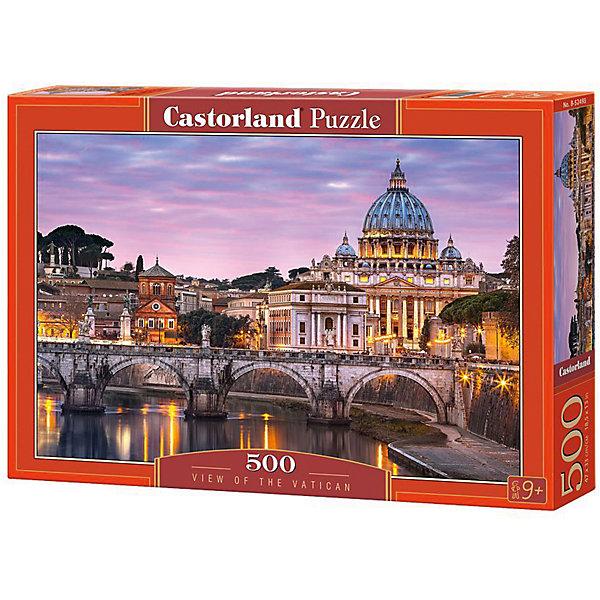 Castorland Пазлы Ватикан, 500 деталей, Castorland канва с рисунком для вышивания бисером hobby