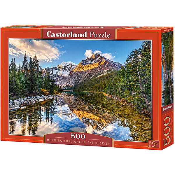 Castorland Пазлы Утро в горах , 500 деталей, Castorland castorland пазлы парусник 1000 деталей castorland