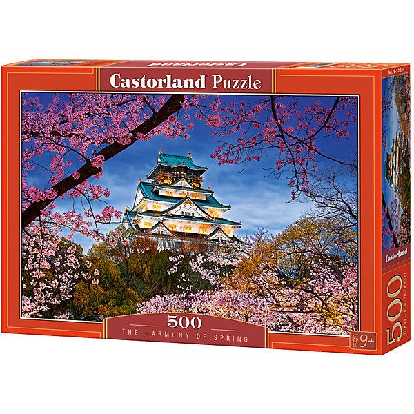 Castorland Пазлы Весна , 500 деталей, Castorland castorland пазлы парусник 1000 деталей castorland